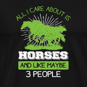 horse lovers - Men's Premium T-Shirt