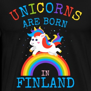 Unicorns are born in Finlan.Funny Unicorn Kid Gift