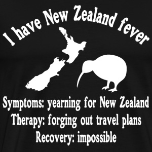 I have New Zealand fever - adventure - traveling - Männer Premium T-Shirt