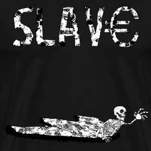 Ink dark - Slave - Premium-T-shirt herr