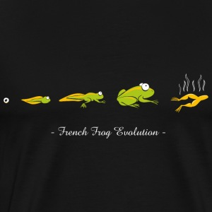 French frog evolution - T-shirt Premium Homme