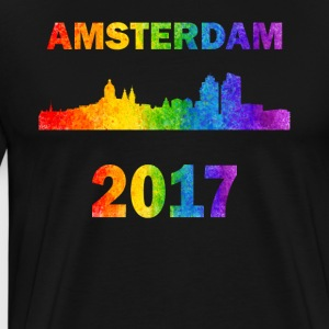 Amsterdam stolthed - Herre premium T-shirt
