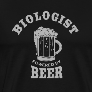 BIOLOGIST powered by BEER - Männer Premium T-Shirt