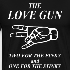The Love Gun - sex expert t-shirt - Men's Premium T-Shirt