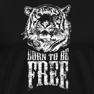Born to be free! - Men's Premium T-Shirt