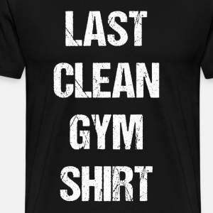 Last Clean Gym Shirt