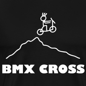 BMX Freestyle Radsport Cross - Männer Premium T-Shirt