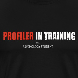 Profiler in Training - Männer Premium T-Shirt