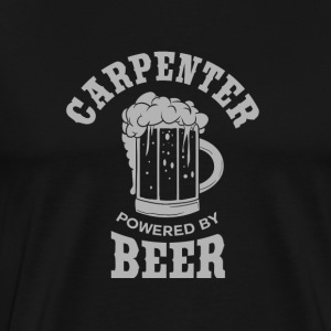CARPENTER powered by BEER - Men's Premium T-Shirt
