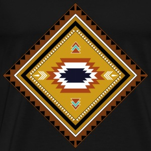 native american patroon - Mannen Premium T-shirt