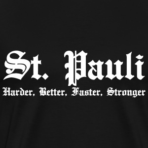 St. Pauli Harder Better Faster Strong Amburgo - Maglietta Premium da uomo