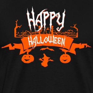 Horreur Happy Halloween - T-shirt Premium Homme