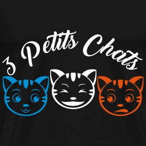 3 Little Cats - Männer Premium T-Shirt