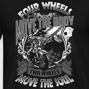 Motorcycle soul - Men's Premium T-Shirt