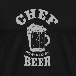 CHEF powered by BEER - Men's Premium T-Shirt