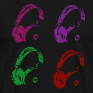 headset - Men's Premium T-Shirt