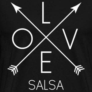 LOVE Salsa - white - Men's Premium T-Shirt