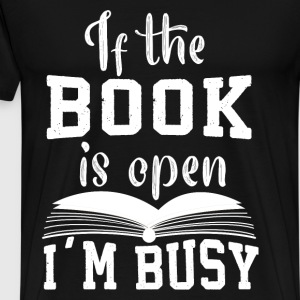 Busy by book - Men's Premium T-Shirt