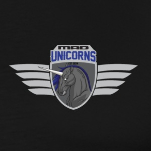 Mad Unicorns Luminoso - Maglietta Premium da uomo