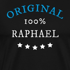 Original 100% Raphael, gift, name - Men's Premium T-Shirt