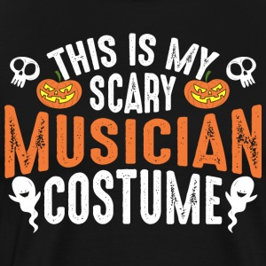 This Is My Scary Musician Costume - Men's Premium T-Shirt