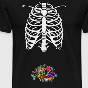 Skeleton Candy Food Baby Costume Halloween - Men's Premium T-Shirt