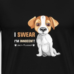 Pet T-shirt | Innocent Jack Russel - Herre premium T-shirt
