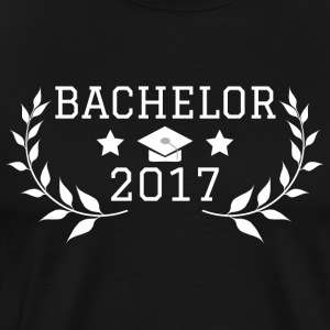 Bachelor i 2017 - Premium T-skjorte for menn