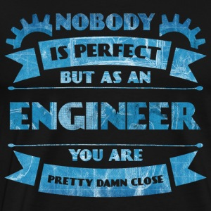 Perfect Engineer - Engineer Blaupause - Men's Premium T-Shirt
