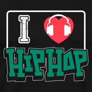 I Love HIphop - Men's Premium T-Shirt
