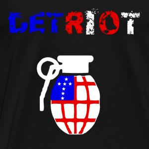 Detriot - Herre premium T-shirt