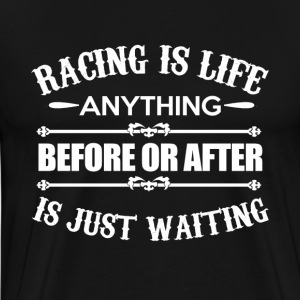 Racing is het Leven - Mannen Premium T-shirt