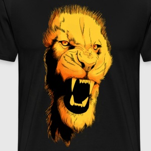 lion design color - T-shirt Premium Homme
