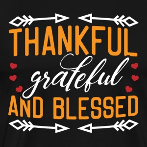 Thankful grateful and blessed - Men's Premium T-Shirt