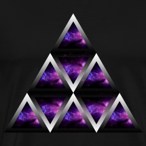 Space Shape Pyramid - Men's Premium T-Shirt