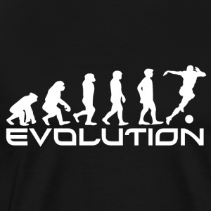 EVOLUTION SOCCER - Premium T-skjorte for menn
