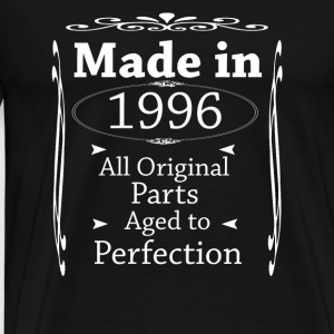 Made in 1996 - Herre premium T-shirt