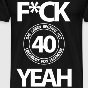 40 years - Men's Premium T-Shirt