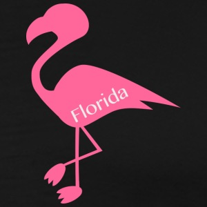 Flamingo Florida - Herre premium T-shirt