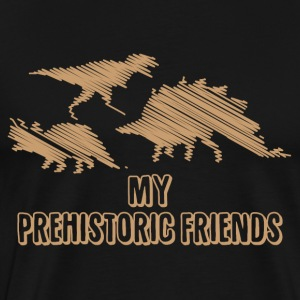 My Prehistoric Friends - Dinosaurs - Men's Premium T-Shirt