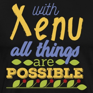 With Xenu All Things are Possible - Männer Premium T-Shirt