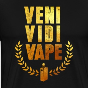 Steam vaping morsomt - Premium T-skjorte for menn