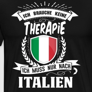 I do not need therapy Italy - Men's Premium T-Shirt