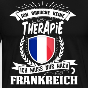 I do not need therapy France - Men's Premium T-Shirt
