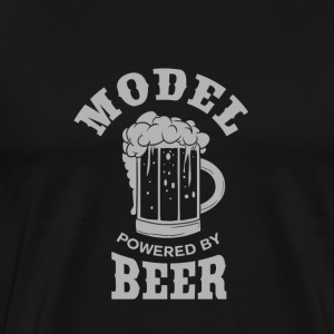 MODEL powered by BEER - Männer Premium T-Shirt