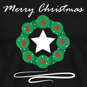 Merry Christmas Advent wreath Merry Christmas - Men's Premium T-Shirt