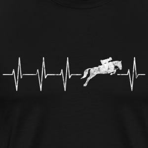 Heartbeat riding - Men's Premium T-Shirt