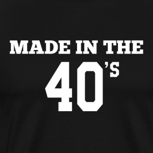 Made in the 40´s - Männer Premium T-Shirt