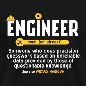 ENGINEER ENGINEER GAVE - Herre premium T-shirt