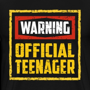 Warning Officially Teenage 13th Birthday Gift